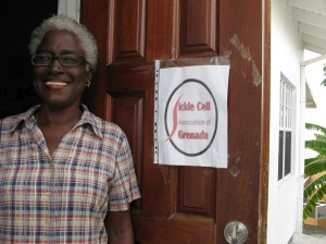 Jean Griffith, director of the Grenada Sickle Cell Association