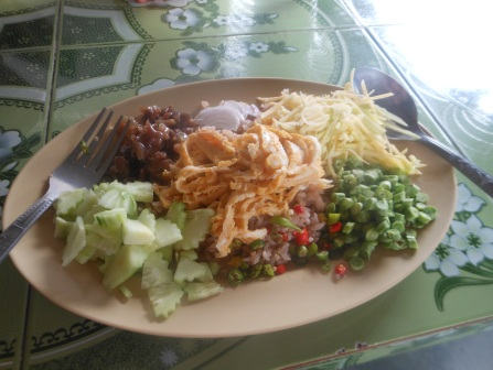 Kao Clook Gapi= my favorite lunch