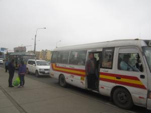 "Combi bus, one of the ""joys"" of travel"