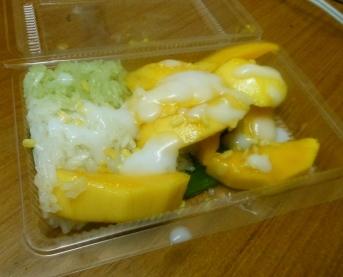 Kao neow mamuang (Mango sticky rice)