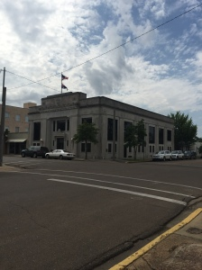 The Bank of Clarksdale building, which was used as The Jackson Journal in the movie The Help