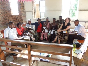 Mothers provide feedback on antenatal health services in a focus group in Kashongi
