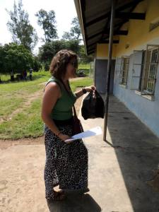 Delivering prenatal vitamins to the health center