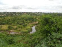 The River Rwizi in Mbarara Town